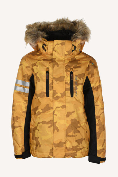 CAMO JACKET - YELLOW