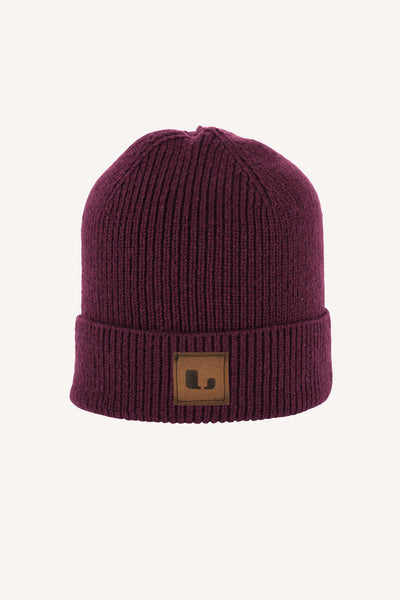 BORGHULT HAT - WINERED