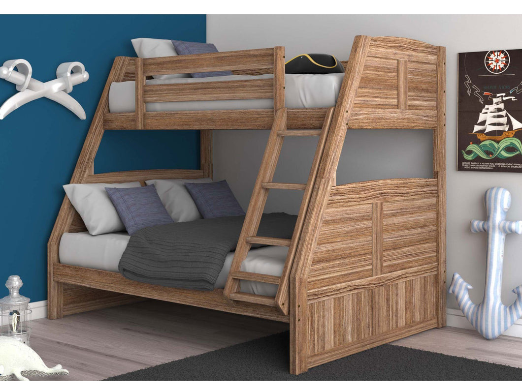 Picture of: Fairview Sand Twin Over Full Bunk Bed Bunk Bed Buddies