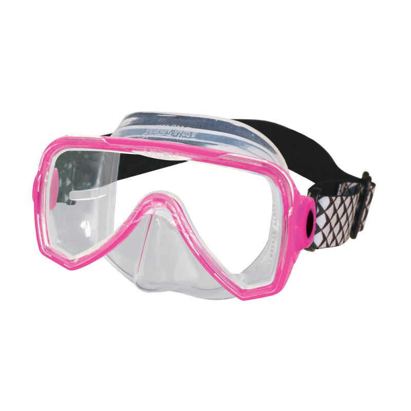 Beuchat 1 Lens Mask Oceo Junior - Clear Silicone with Elastic Strap