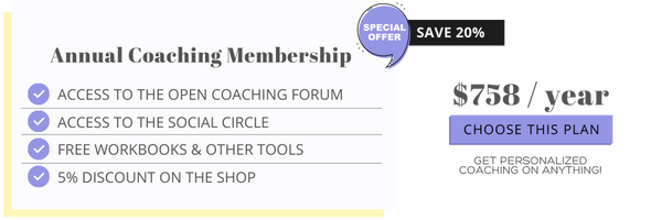 Personalized Coaching & A Social Support Group | Tools & Courses For Your Mindset