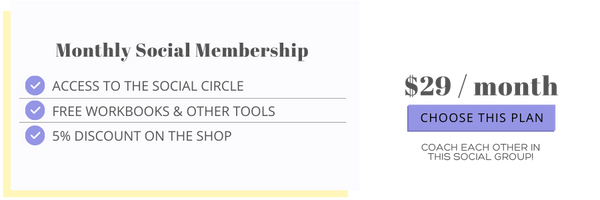 A Social Support Group for Self-Help Workbooks & Exercises