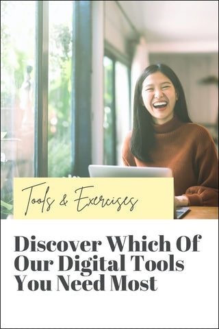 Discover which digital tools, exercises and workbooks you need to get the most out of your personal development journey
