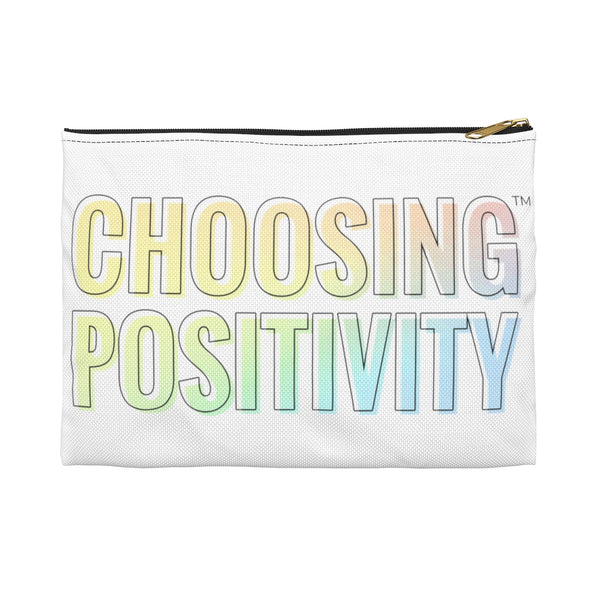 Choosing Positivity Makeup Bag