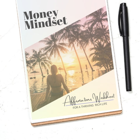 Money Mindset Workbook for a thriving rich life | Affirmations