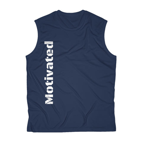 Motivated Men's Sleeveless Performance Tee