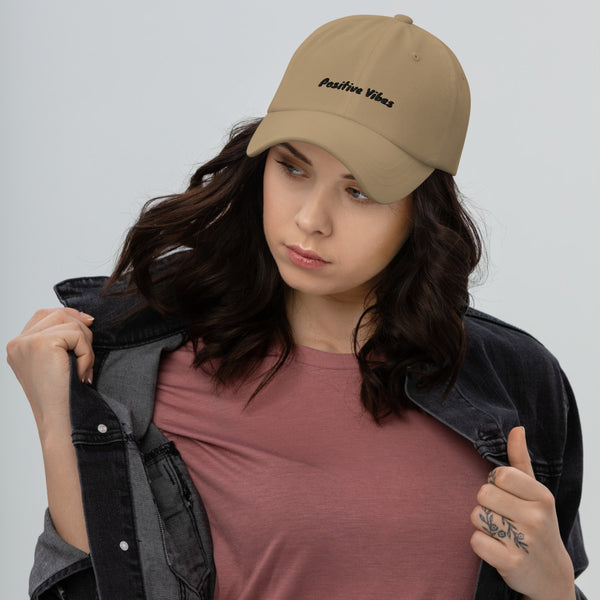Positive Vibes Dad hat