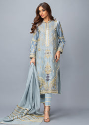 Bahaar (Steel Blue)