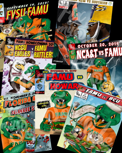 2019 Gameday Poster Collection