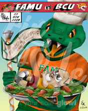 Load image into Gallery viewer, FAMU v BCU Poster