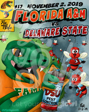 Load image into Gallery viewer, FAMU v Delaware State Poster
