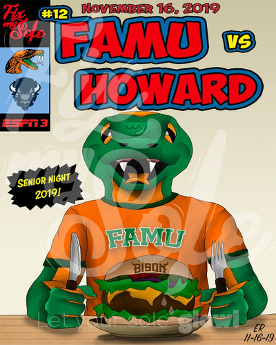 FAMU v Howard Poster