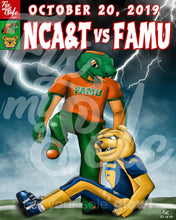 Load image into Gallery viewer, FAMU v NCAT Poster