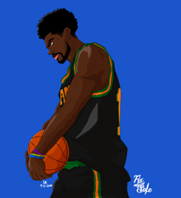 Load image into Gallery viewer, FAMU Basketball Print #2
