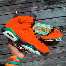 Load image into Gallery viewer, Rattler Jordan 6's
