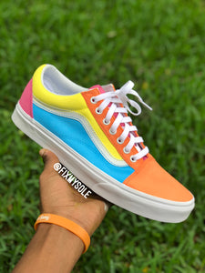 Pastel Vans Old Skool