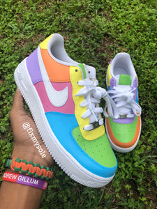 Pastel Air Force Ones