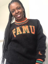 Load image into Gallery viewer, FAMU Sherpa Crewneck Sweater