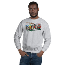 Load image into Gallery viewer, Greetings from FAMU Crewneck Sweatshirt