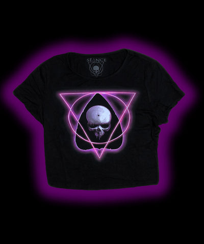 """Neon Spectre Logo"" Crop Top"