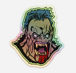 """RAWHEAD REX"" Hologram Sticker"