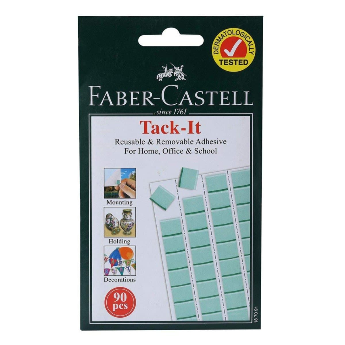 Faber Castell TACK-IT, Multipurpose Adhesive Tack, 90/pack