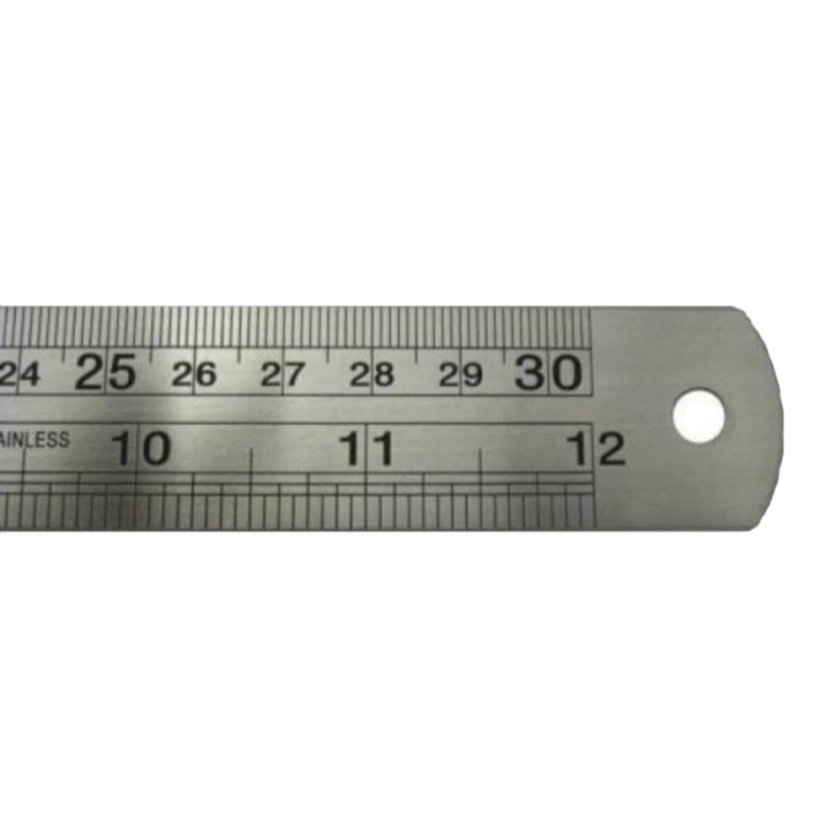 FIS Steel Ruler 12inches / 30cm