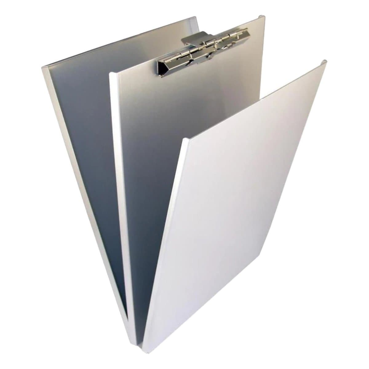 Saunders Aluminum Clip Board with Storage, A4