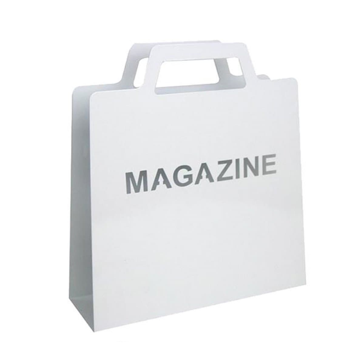 Trendform Newspaper Stand MAGAZINE, White