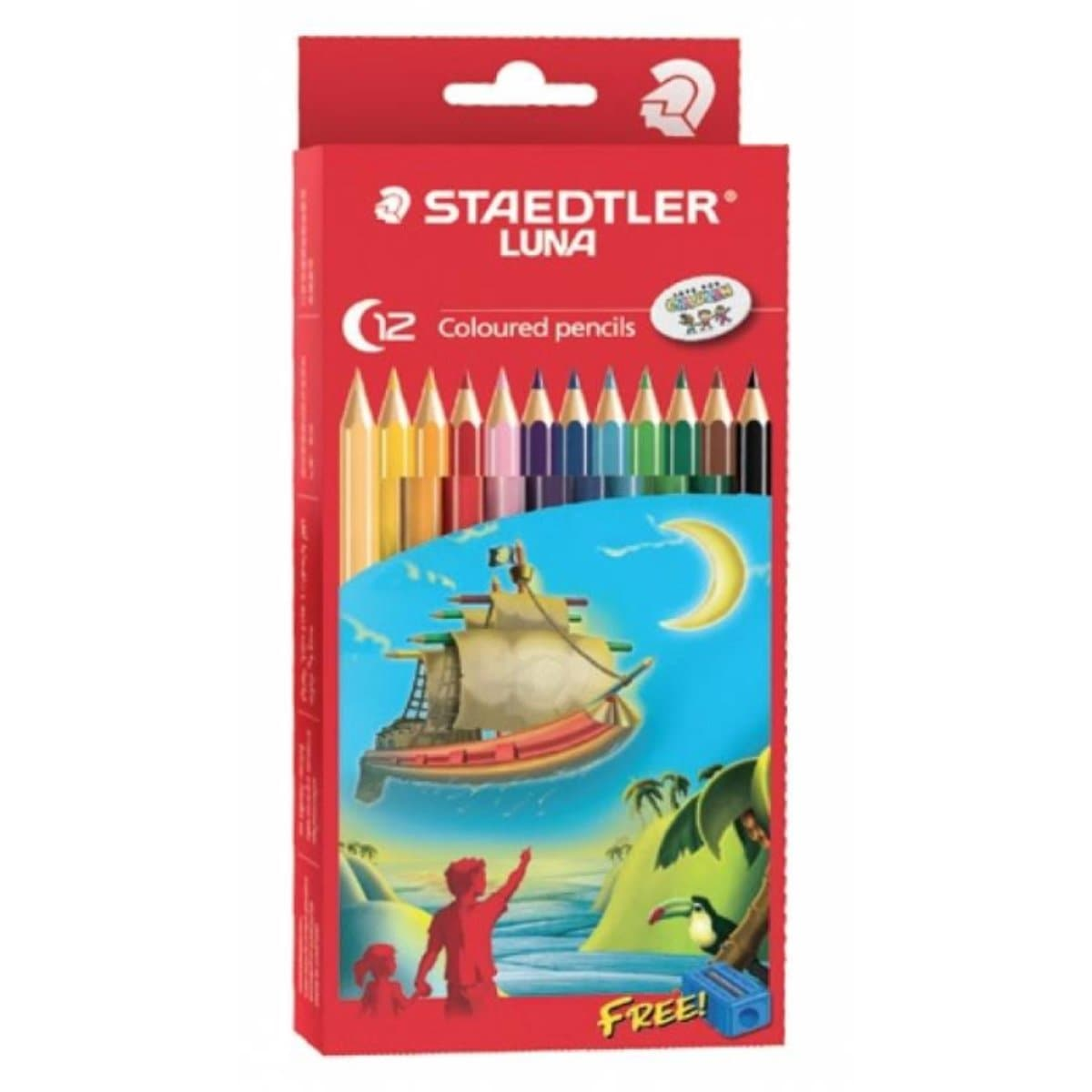 Staedtler Luna Colored Pencils, 12/pack