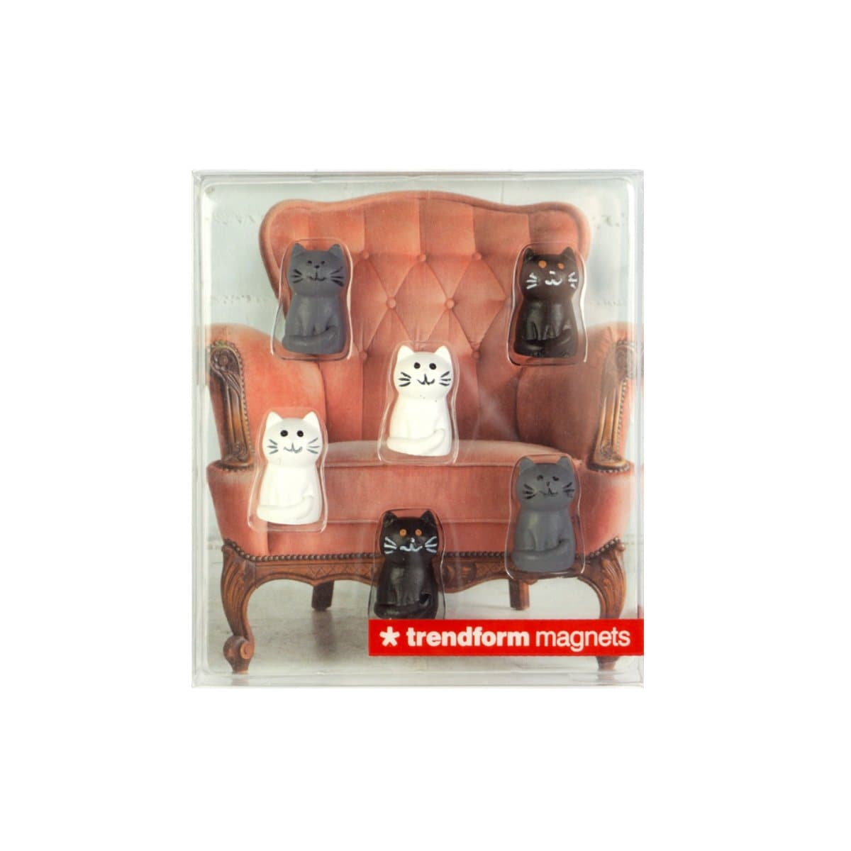 Trendform Magnets Cat, Set of 6