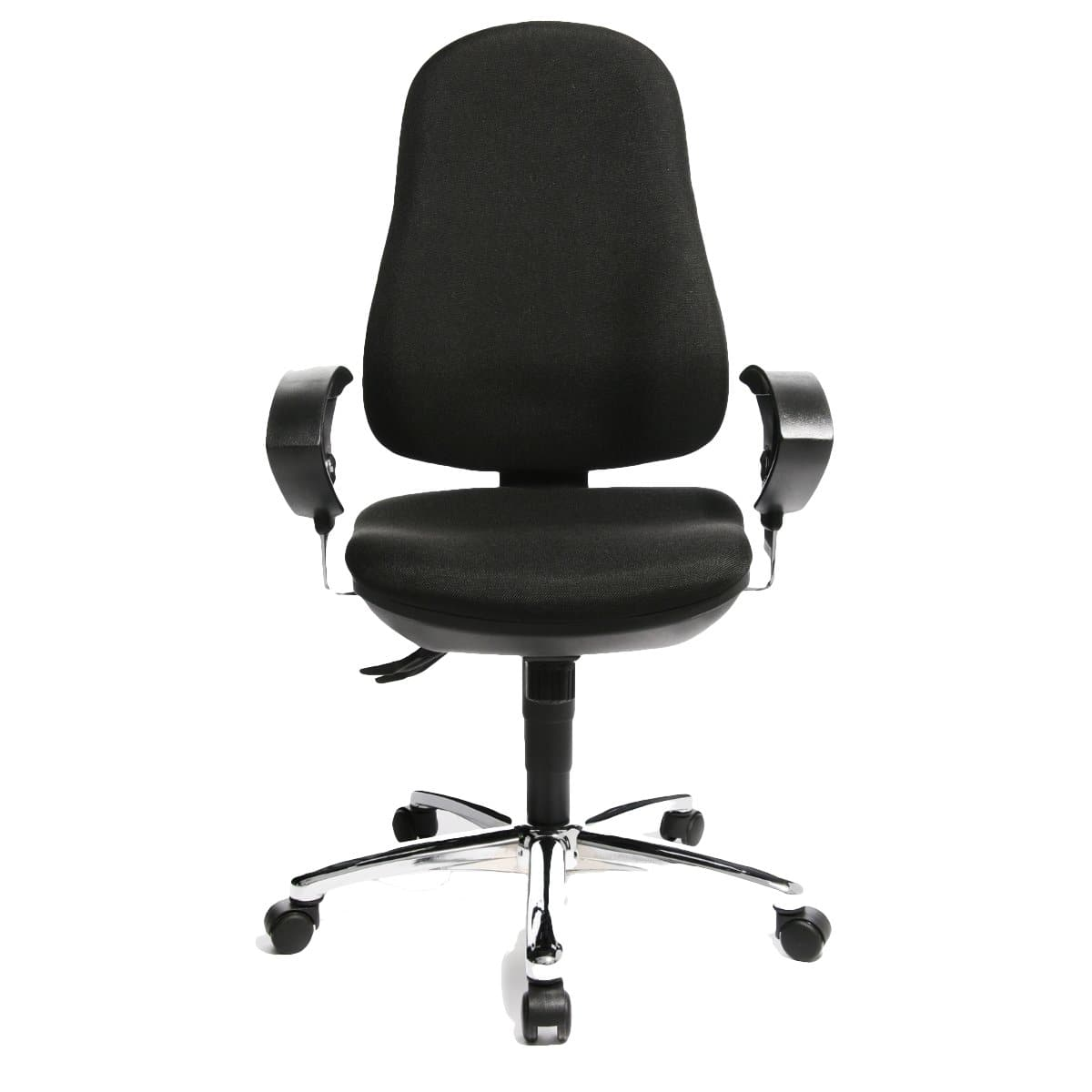 Topstar SUPPORT SY Secretary Office Chair, Fabric Black