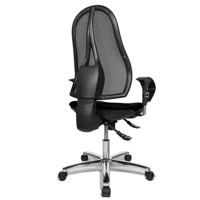 Topstar OPEN POINT SY Mesh Office Chair, Mesh/Fabric Black