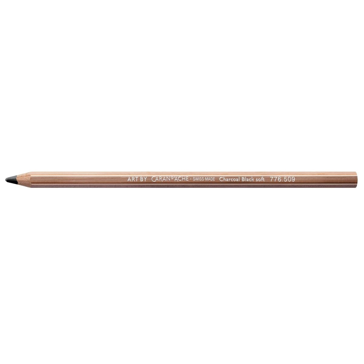 CARAN d'ACHE Artist Art Charcoal Pencil, soft, Black