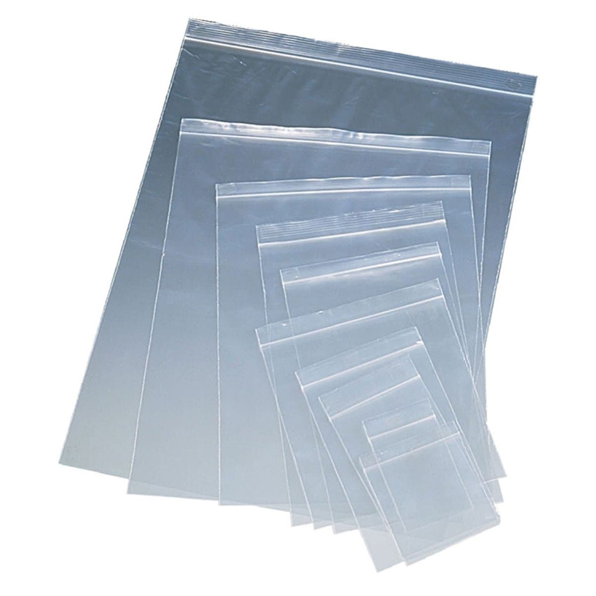 Zip Lock Bag 40 x 60 mm, Polypropylene, 60 microns, 20/pack, Clear