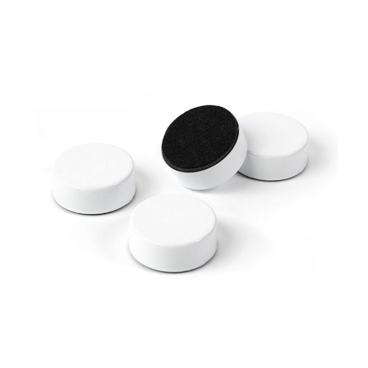 Trendform Super Strong Magnet WHITE, 23mm, 4/pack, White