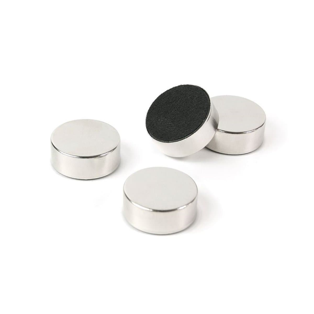 Trendform Super Strong Magnet SILVER, 23mm, 4/pack, Silver