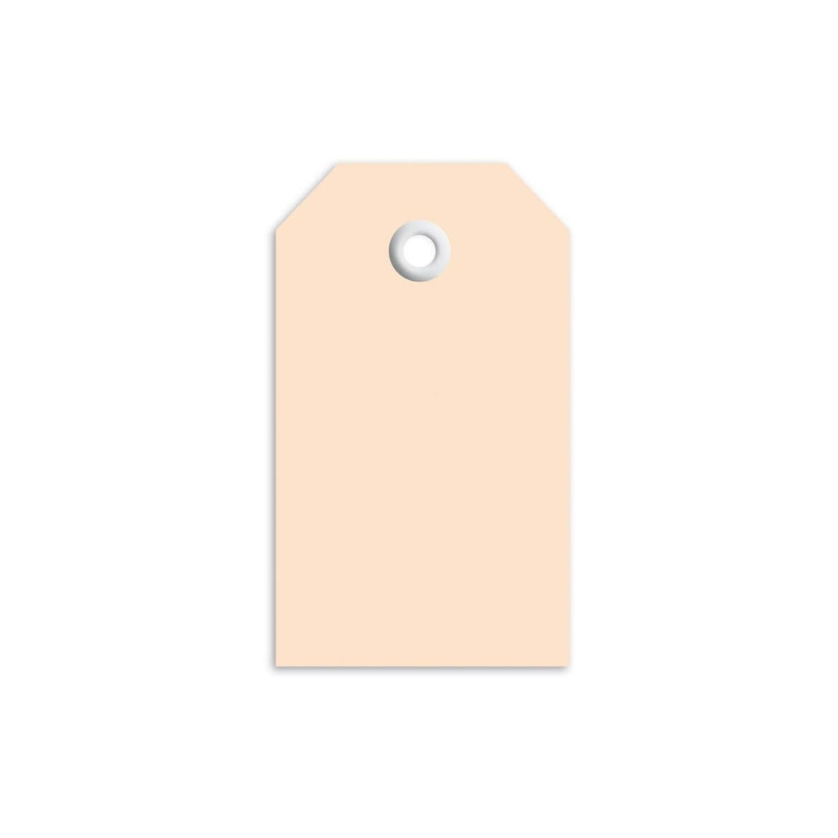 Herma Merchandise Tags with plastic eyelet, 35 x 60 mm, Brown