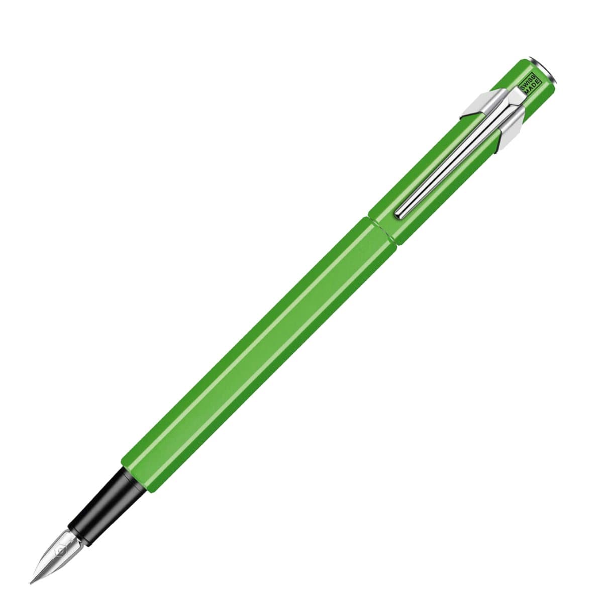 CARAN d'ACHE 849 Fountain Pen Metal, M nib, Fluo Green
