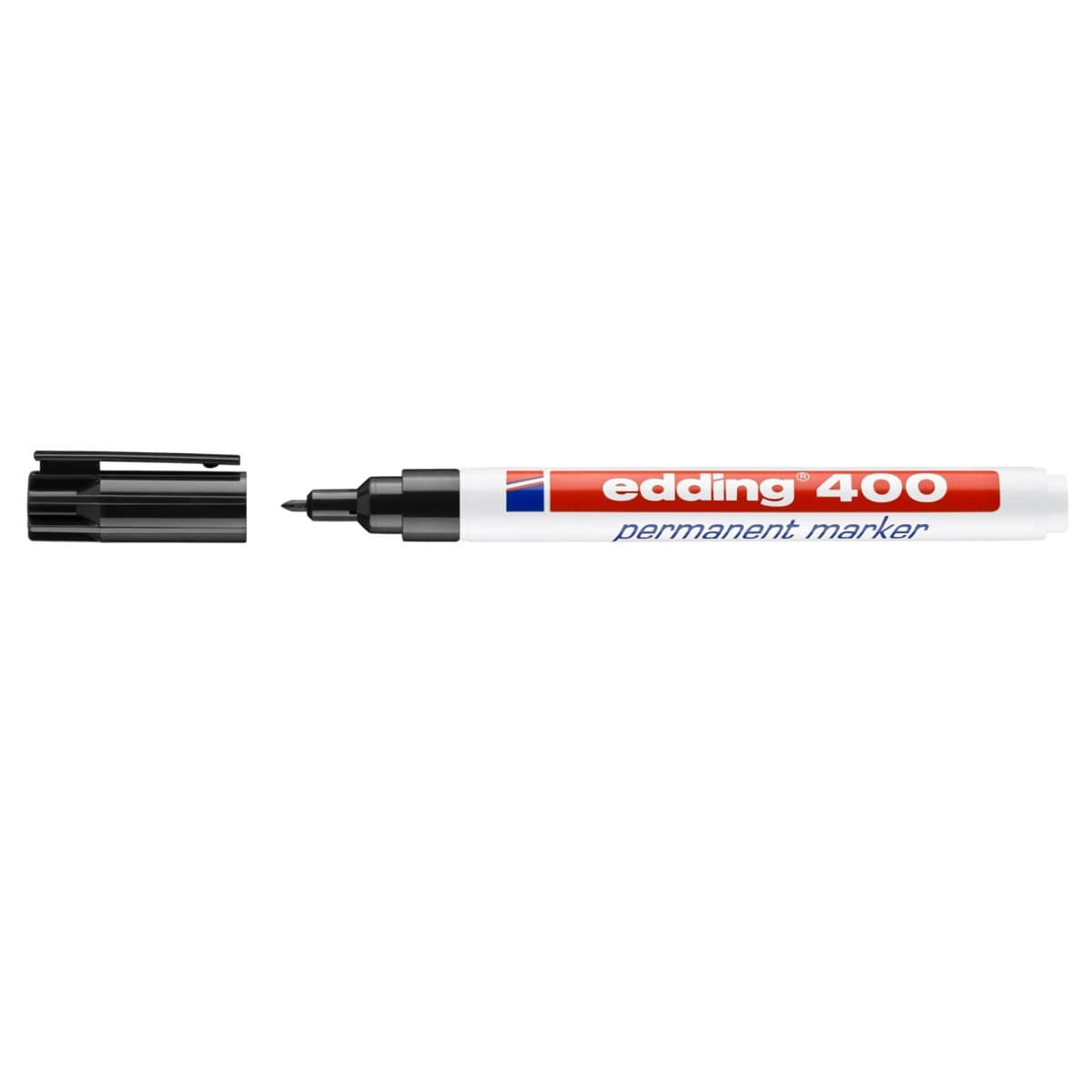 edding 400 Permanent Marker, 1mm Bullet Tip, Black