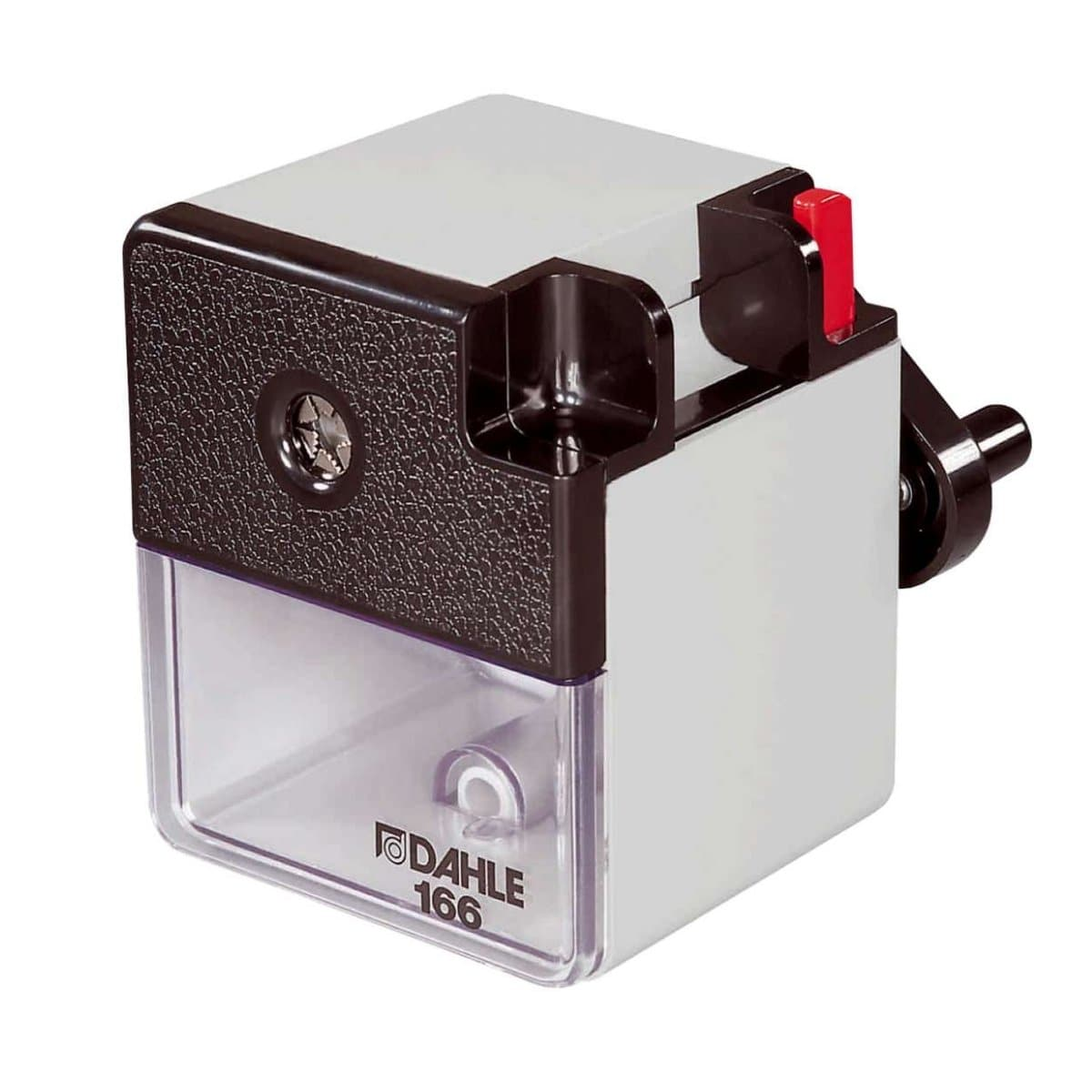 Dahle 166 Premium Pencil Sharpener, Grey
