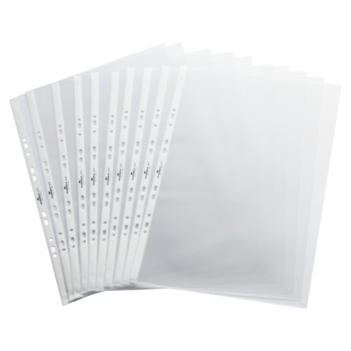 Durable Refill Pockets for Table Flipchart A3, 10/pack, Transparent