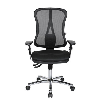 Topstar HEAD POINT SY SOMO Mesh Office Chair, Mesh/Fabric Black
