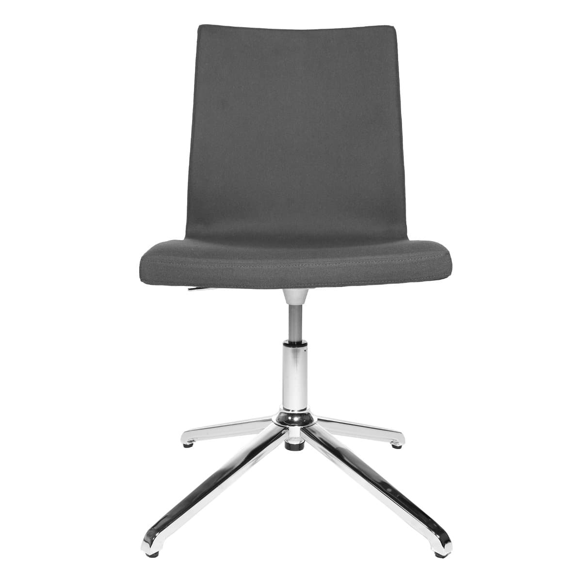 Topstar CUBE Swivel Visitor Meeting Chair, Fabric Anthrazite