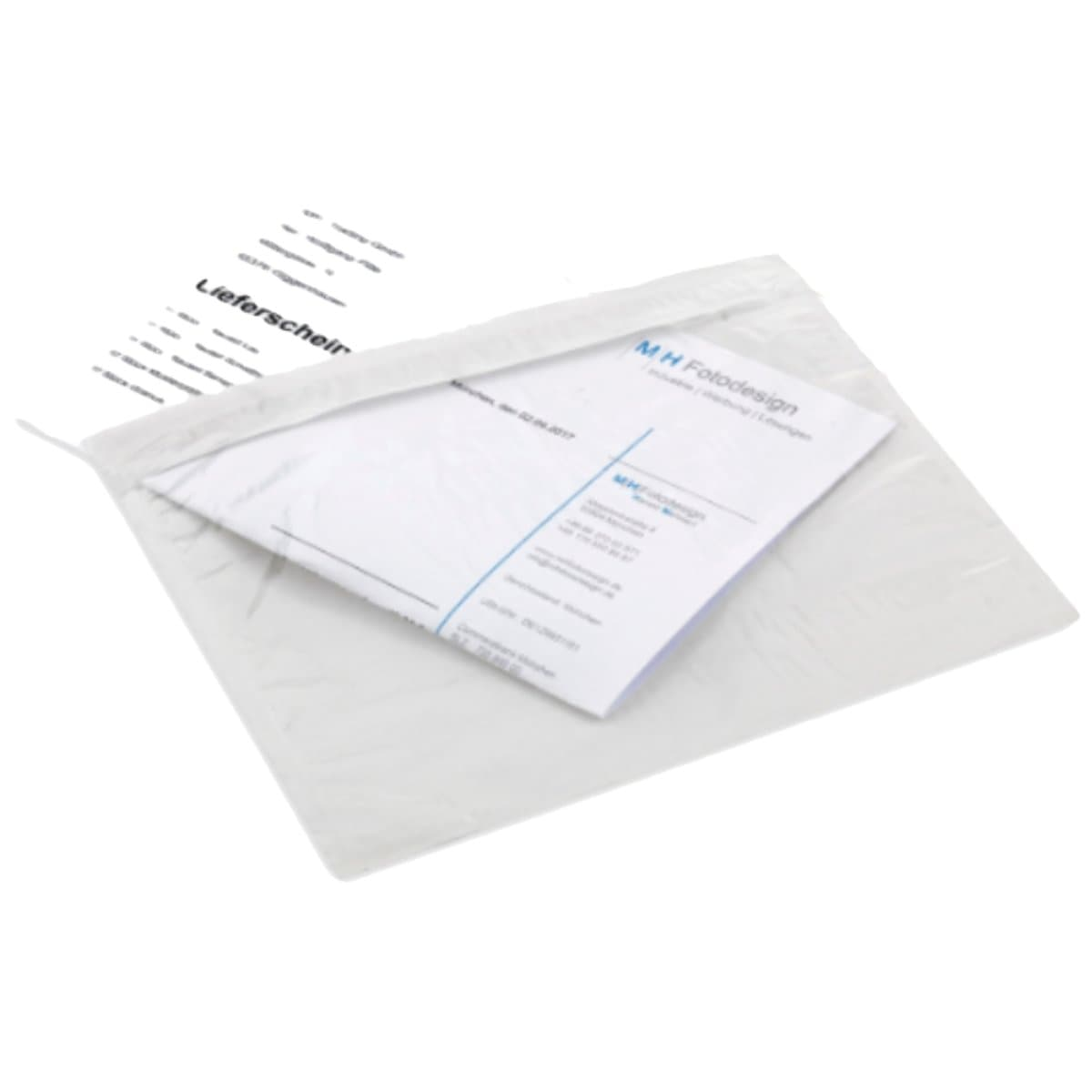 Clear Self-Adhesive Shipping Document/Bill Pouches