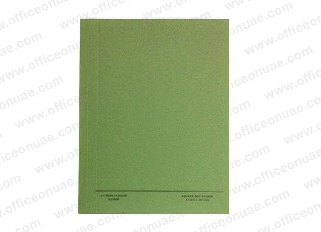 FIS Square Cut Folder A4, 10/pack, Green