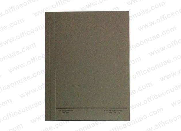 FIS Square Cut Folder A4, 10/pack, Grey