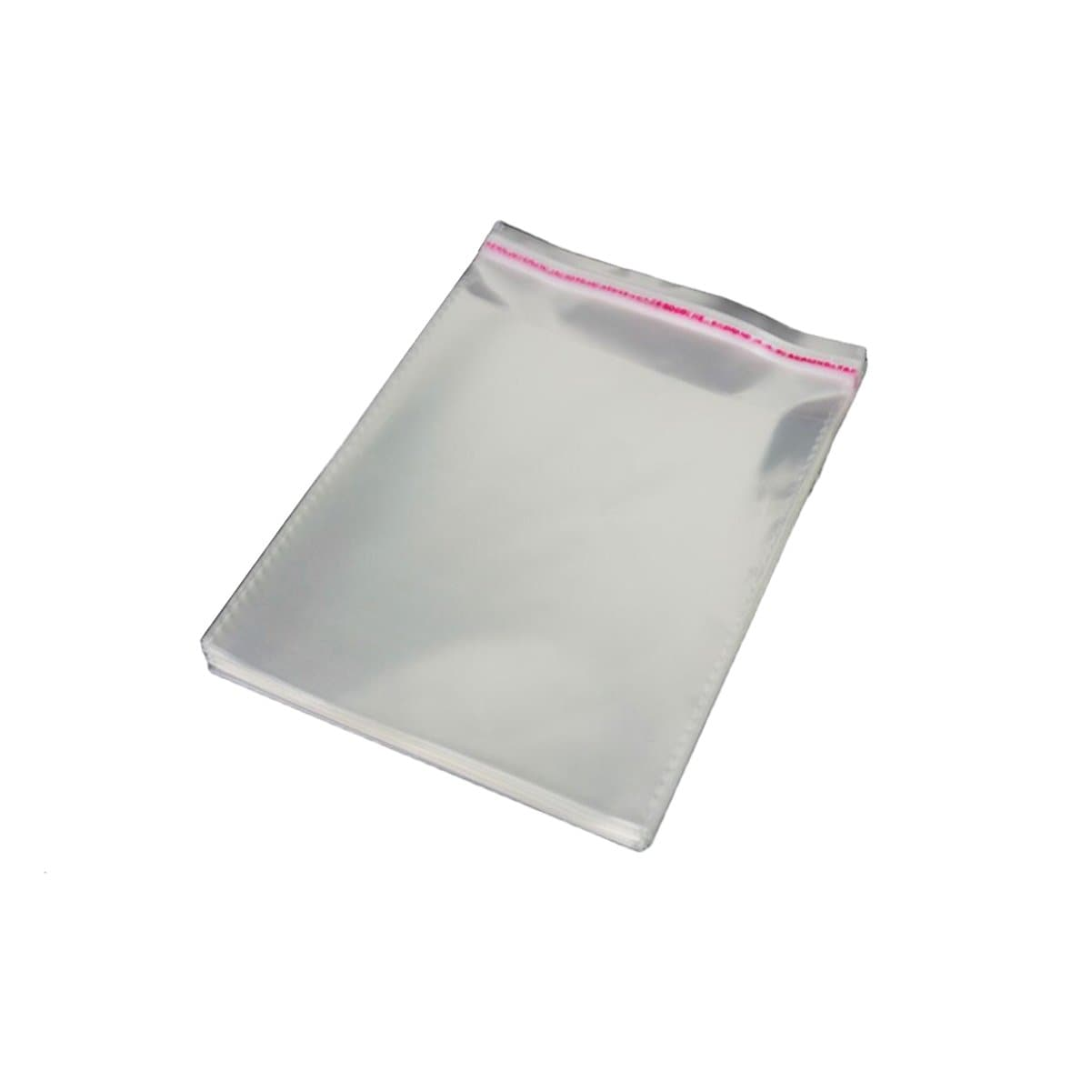 Clear OPP Bag with Self-Adhesive Seal, 30 Micron, C6 114 x 162mm, 50/pack