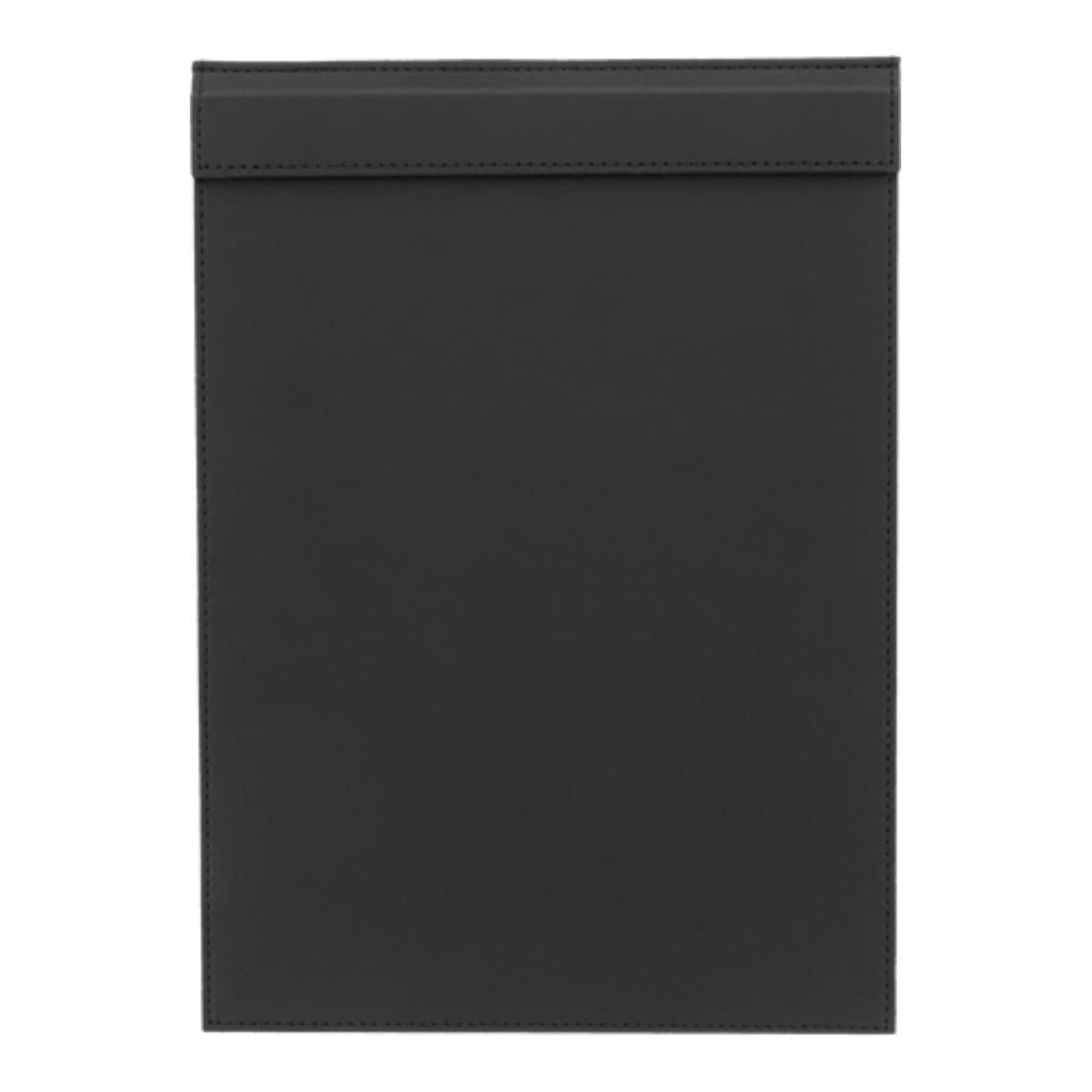 Konrad S. Clip Board with Magnetic Flap A4, PU Leather, Black