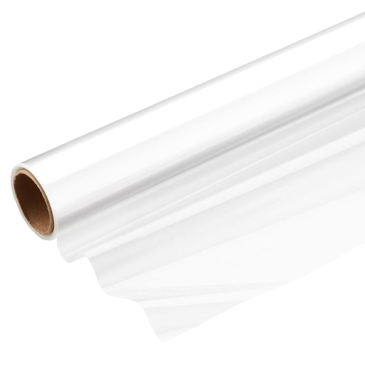 Paul Clear Cellophane Wrapping Paper, 70 x 500 cm, Transparent
